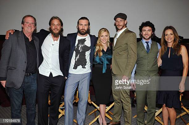 44 Travis Fimmel And George Blagden Pictures, Photos & Images
