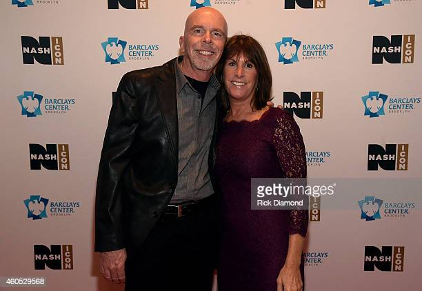 Peter Hartung and Nancy Hartung attend the Inaugural Nash Icon ACC Awards postshow party honoring Reba as the first recipient of the NASH ICON Award...