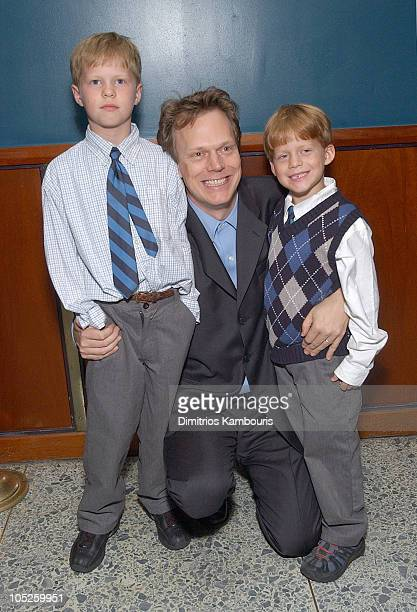 Peter Hedges and family during 'Pieces of April' New York City Premiere After Party at Lansky Lounge in New York City New York United States