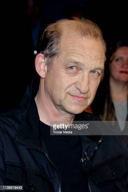 Peter Heinrich Brix during the NDR Talk show on April 26 2019 in Hamburg Germany