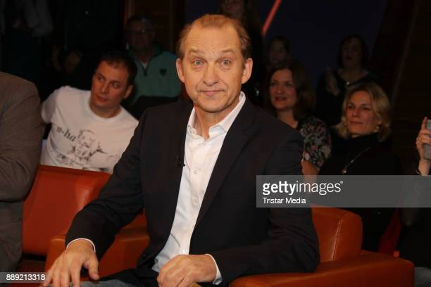 Peter Heinrich Brix during the NDR Talk Show on December 8 2017 in Hamburg Germany