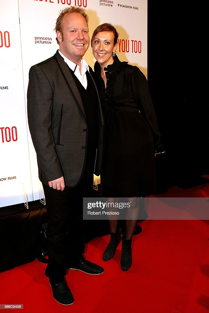 Peter Hellier and Bridget Hellier attend the premiere of 'I Love You Too' at Village Jam Factory on April 23, 2010 in Melbourne, Australia.