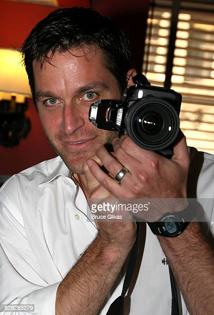 Peter Hermann during Liev Schreiber Caricature Unveiled at Sardi's Wall of Fame June 26 2007 at Sardis in New York City New York United States
