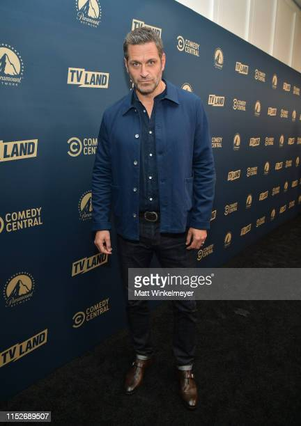 Peter Hermann from 'Younger' attends the Comedy Central, Paramount Network and TV Land summer press day at The London Hotel on May 30, 2019 in West...