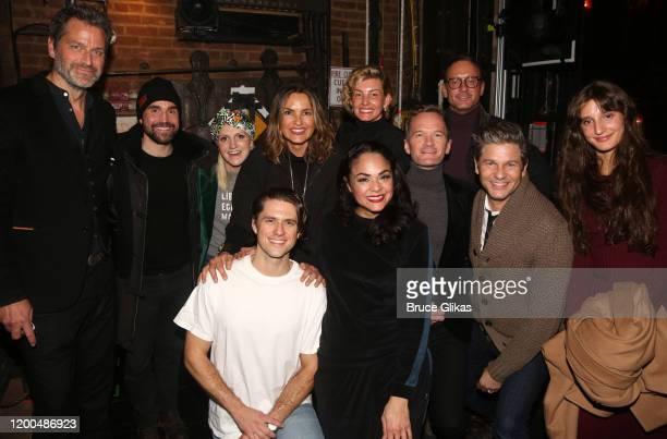 Peter Hermann, Joe Tapper, wife Annaleigh Ashford, Aaron Tveit, Mariska Hargitay, Karen Olivio, Faith Hill, Neil Patrick Harris, Tim McGraw, David...