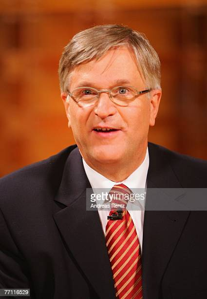 Peter Hintze attends the Anne Will talk show on September 30 2007 in Berlin Germany