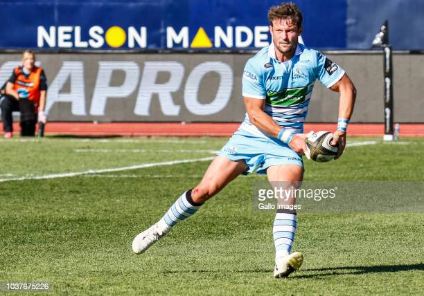 Peter Horne of Glasgow Warriors during the Guinness Pro14 match between Isuzu Southern Kings and Glasgow Warriors at Nelson Mandela Bay University on...
