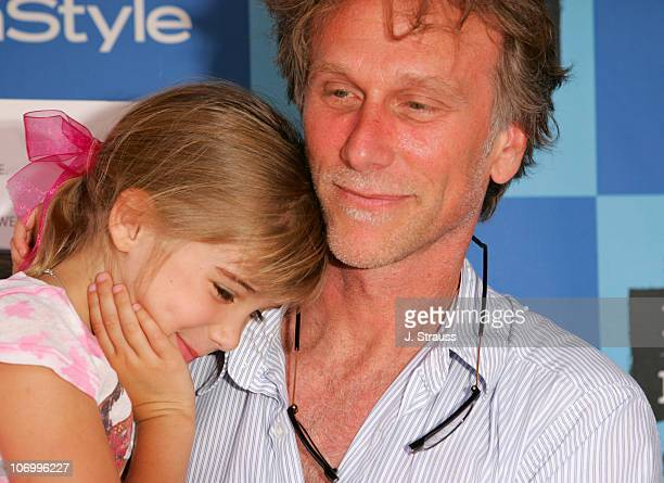 "Peter Horton and his daughter Lily during 2006 Los Angeles Film Festival - ""Who Killed The Electric Car"" Screening and ""Green Day"" Fair at Westwood..."