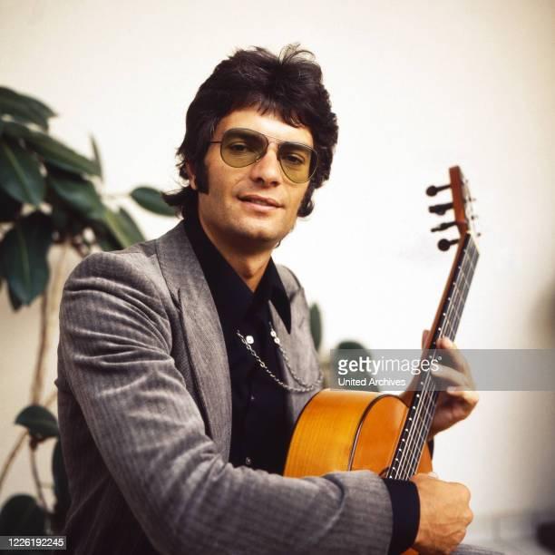 Peter Horton, auch Peter Horten , Sänger, Gitarrist, Komponist, Deutschland, 1970er.