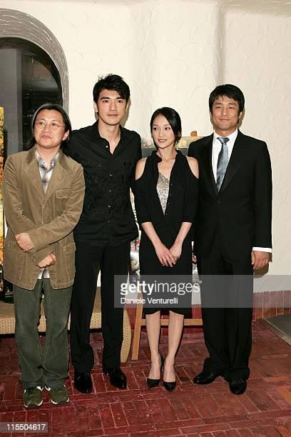 Peter HoSun Chan Takeshi Kaneshiro Zhou Xun and Ji JinHee