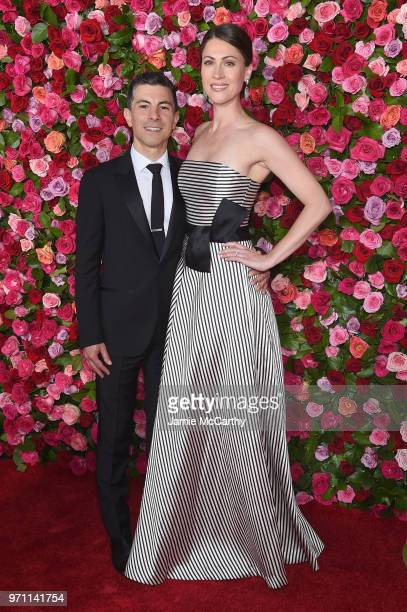 Peter Hylenski and Suzanne Hylenski attend the 72nd Annual Tony Awards at Radio City Music Hall on June 10 2018 in New York City