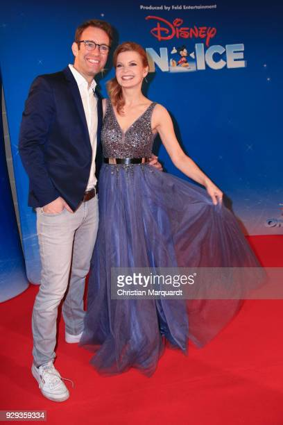 Peter Imhof and Eva Imhof attend the Disney on Ice premiere 'Fantastische Abenteuer' at Velodrom on March 8 2018 in Berlin Germany