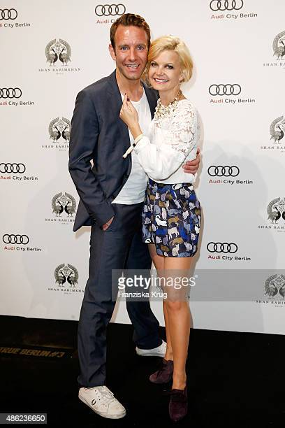 Peter Imhof and Eva Imhof attends True Berlin by Shan Rahimkhan on September 2 2015 in Berlin Germany
