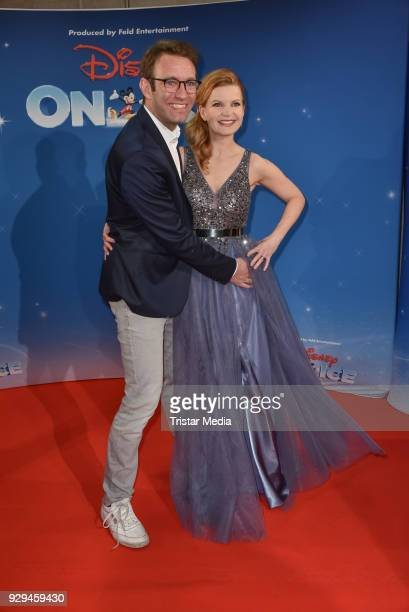 Peter Imhof and his wife Eva Imhof attend the Disney on Ice premiere 'Fantastische Abenteuer' at Velodrom on March 8 2018 in Berlin Germany
