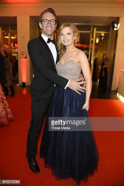Peter Imhof and his wife Eva Imhof attend the Leipzig Opera Ball on November 4 2017 in Leipzig Germany