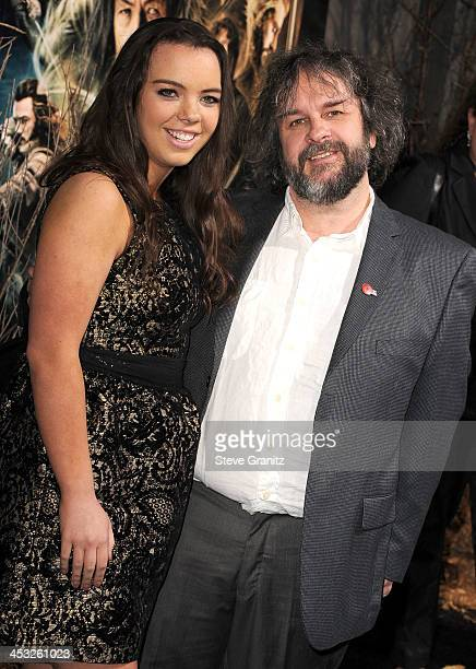Peter Jackson arrives at the The Hobbit The Desolation Of Smaug at TCL Chinese Theatre on December 2 2013 in Hollywood California