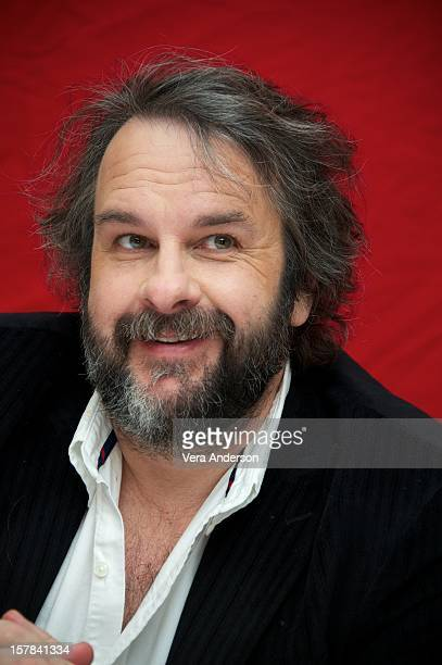 "Peter Jackson at ""The Hobbit: An Unexpected Journey"" Press Conference at The London Hotel on December 6, 2012 in New York City."