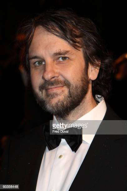 Peter Jackson attends The 2009 Royal Film Performance and World Premiere of 'The Lovely Bones' at Odeon Leicester Square on November 24, 2009 in...
