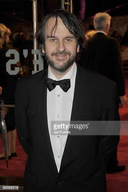 Peter Jackson attends the Cinema & Television Benevolent Fund Royal Film Performance 2009: The Lovely Bones at Odeon Leicester Square on November 24,...