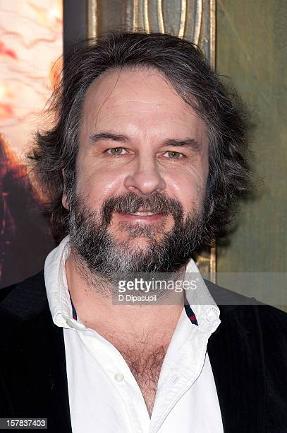 "Peter Jackson attends ""The Hobbit: Unexpected Journey"" premiere at the Ziegfeld Theater on December 6, 2012 in New York City."