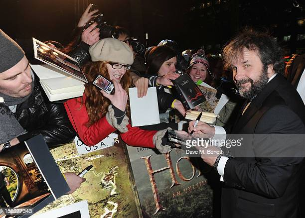 Peter Jackson attends the Royal Film Performance of 'The Hobbit: An Unexpected Journey' at Odeon Leicester Square on December 12, 2012 in London,...