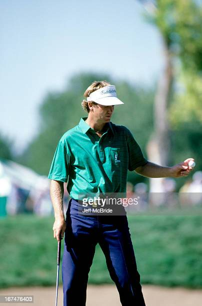 Peter Jacobsen during the 67th PGA Championship held at Cherry Hills Country Club in Englewood Colorado August 811 1985