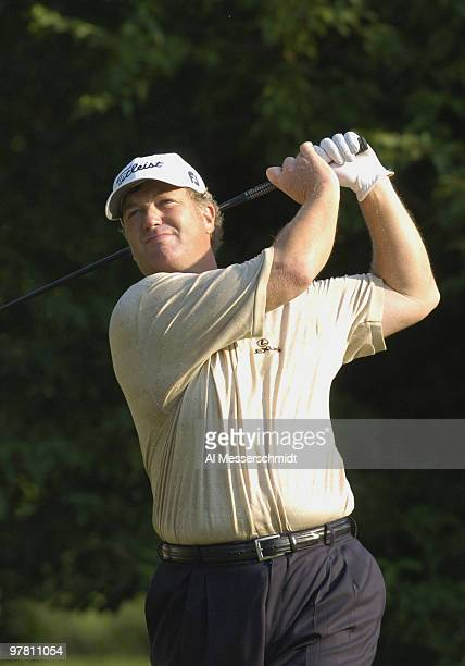 Peter Jacobsen wins the 25th U S Senior Open at Bellerive Country Club in St Louis Missouri on August 1 2004
