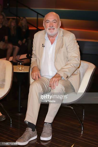 """Peter Jamin during the """"Markus Lanz"""" TV show on June 5, 2019 in Hamburg, Germany."""