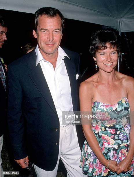 Peter Jennings and Kati Marton during Easthampton's 60th Annual Guild Hall Awards Honoring Frank Perry at Dune Alpin Farm in East Hampton, New York,...