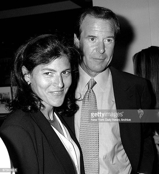 Peter Jennings and wife Casey at after performance party for Helen Krall at Eleven Madison Park