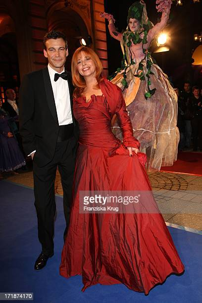 """Peter Kanitz, Olivia Pascal And the """"German Opera Ball"""" In The Old Open In Frankfurt"""