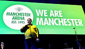 manchester england peter kay wears shosec