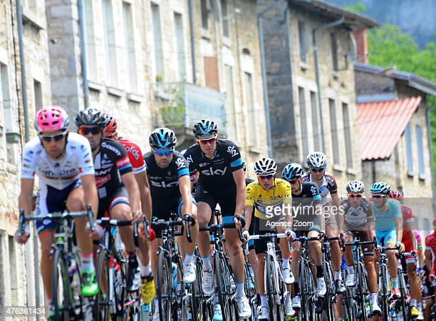 Peter Kennaugh of TEAM SKY during Stage Two of the Criterium du Dauphine on Monday 08 June 2015 Le Bourget du Lac France
