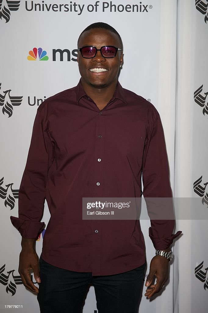 Peter 'Kid Chocolate' Quinllin attends 'Advancing The Dream' live at The Apollo Theater on September 6, 2013 in New York City.
