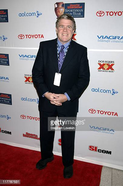 Peter King during Sports Illustrated 2005 Sportsman of the Year Party Arrivals at Stone Rose in New York City New York United States