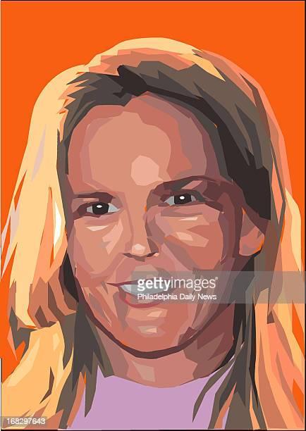 Peter Kohama illustration of Nicole Brown Simpson OJ Simpson's murdered wife