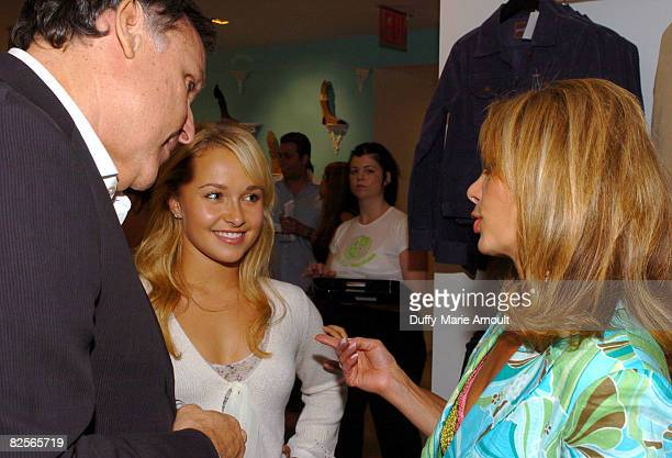 Peter Korah CEO of 7 Jeans Hayden Panettiere and Lesley Vogel