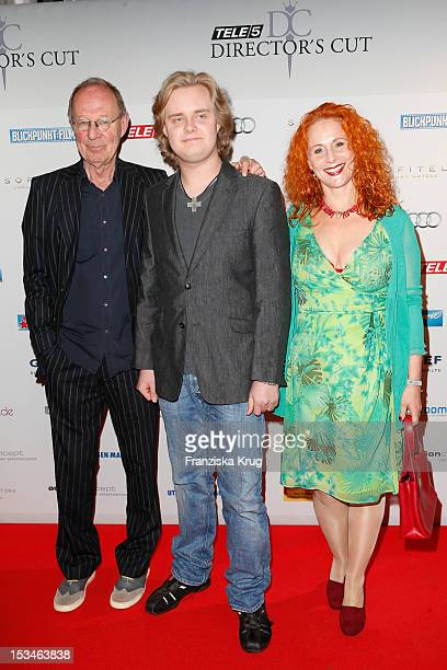 Peter Korff, Johannes Korff and Christiane Leuchtmann attend the TELE 5 Directors Cut at Sofitel on October 5, 2012 in Hamburg, Germany.