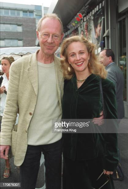 Peter Korff Und Ehefrau Christiane Leuchtmann Bei Studio Hamburg Party 0800