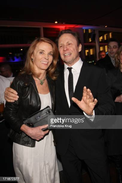 Peter Kraus and wife Ingrid In The Germany Premiere Of The New BMW Z4 Roadster with M Michalsky Fashion Show From In Bmw Kurfürstendamm in Berlin