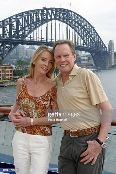 Peter Kraus Ehefrau Ingrid Kraus Kreuzfahrt nach Sydney/Australien MS Europa Urlaub