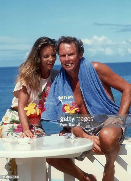 Peter Kraus Ehefrau Ingrid Kraus Urlaub am im MaritimHotel auf Insel Mauritius