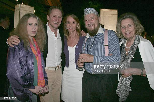Peter Kraus Ehefrau Ingrid Prof Ernst Fuchs Lebensgefährtin Uta Saabel Ingrid Unzeitig Champagnerparty vor ORFShow Starnacht am Wörthersee Parkhotel...