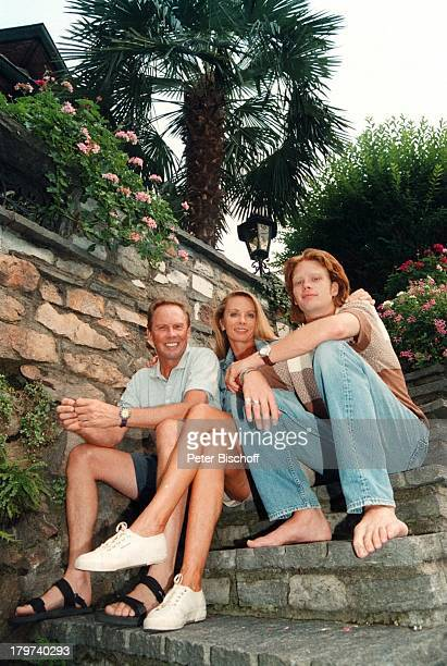 Peter Kraus mit Ehefrau Ingrid und SohnMicky Homestory Luganer See Sänger