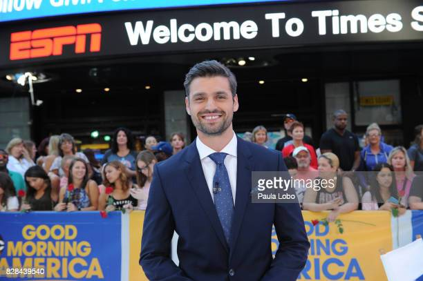 AMERICA Peter Kraus the runnerup on Walt Disney Television via Getty Images's The Bachelorette is a guest on Good Morning America Wednesday August 9...