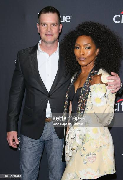 Peter Krause and Angela Bassett attend the Paley Center For Media's 2019 PaleyFest LA '911' held at the Dolby Theater on March 17 2019 in Los Angeles...
