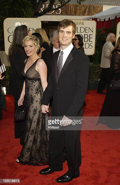 Peter Krause and guest during The 60th Annual Golden Globe Awards Arrivals at The Beverly Hilton Hotel in Beverly Hills California United States
