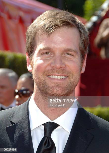 Peter Krause during 58th Annual Primetime Emmy Awards Arrivals at Shrine Auditorium in Los Angeles California United States