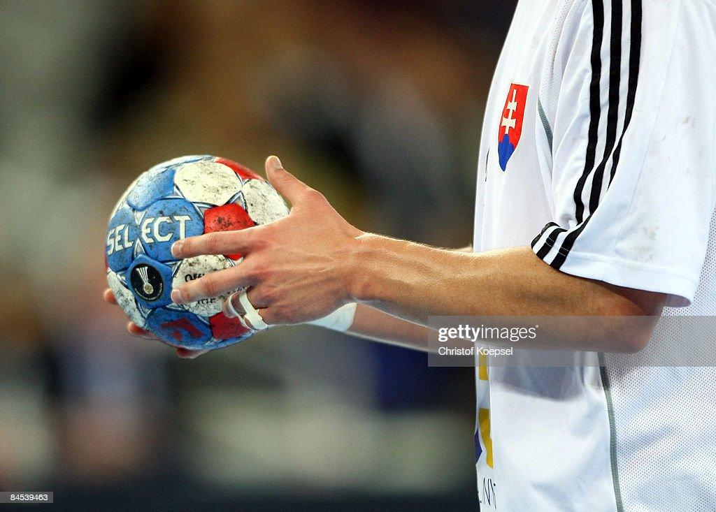 Slovakia v Norway - Men's World Handball Championship 2009 : News Photo