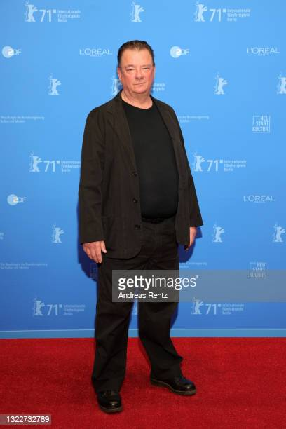 """Peter Kurth attends the Opening Ceremony and """"The Mauritanian"""" premiere during the 71st Berlinale International Film Festival Summer Special at..."""